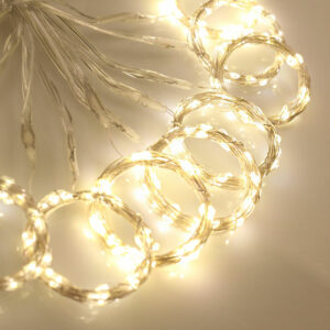 3x3 Meter LED Curtain Light  Waterproof USB Copper Wire  Fairy Light With Remote Control Outdoor Garland For Xmas Party #