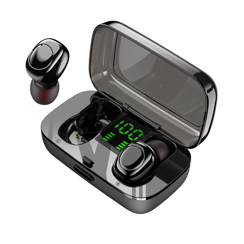 Bakeey XG23 TWS True Wireless bluetooth 5.0 Earphone Smart Touch Led Power Display IPX6 Waterproof Headphone with Mic