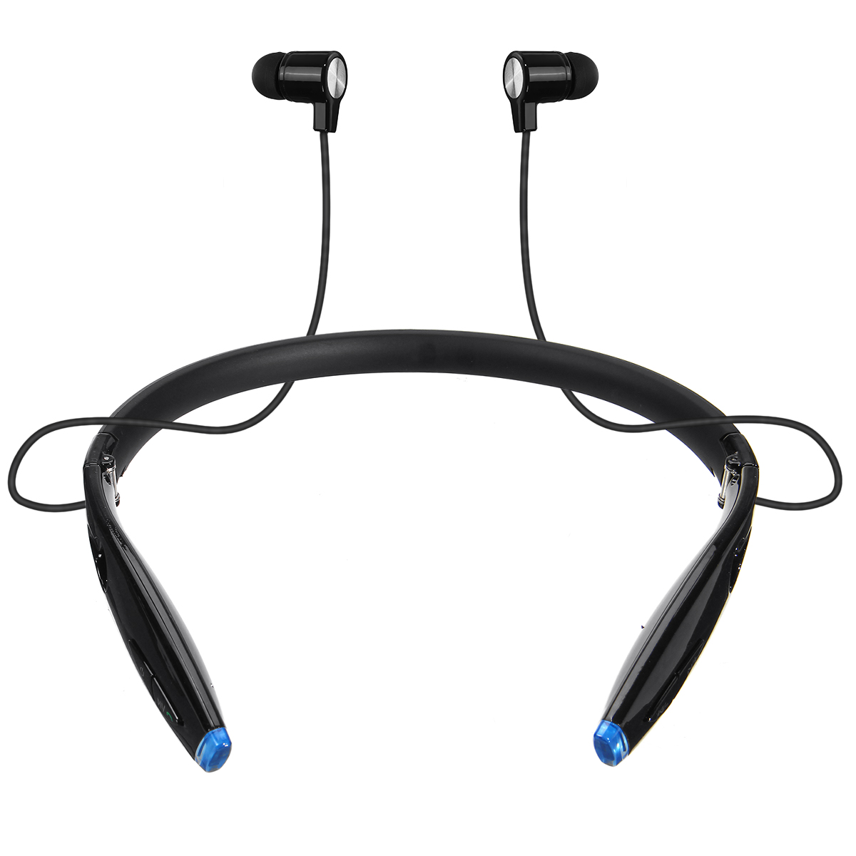 Zealot H1 Foldable bluetooth Stereo Neckband Headphone CVC6.0 Noise Canceling IPX7 Waterproof Earphone with Mic