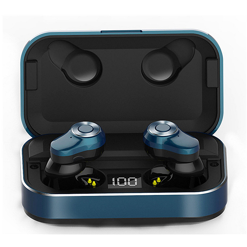 A6 bluetooth 5.0 Wireless Stereo Earphone LED Display TWS Sports Headphone Waterproof DSP Noise Reduction for Huawei