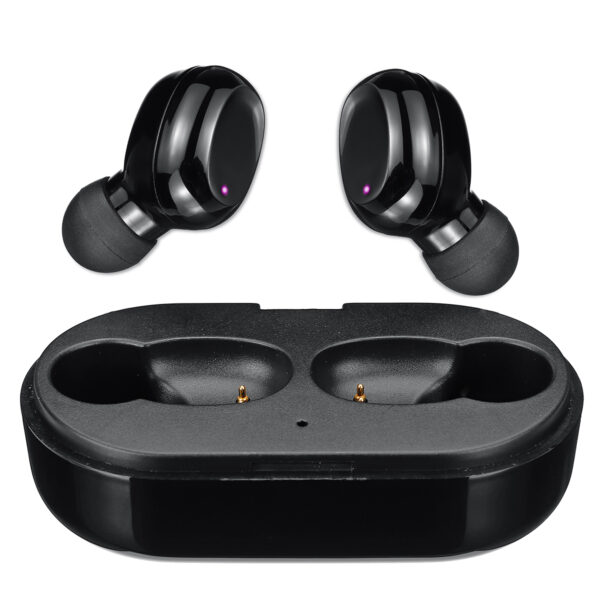 [bluetooth 5.0] TWS True Wireless Earbuds Noise Cancelling Touch Control IPX6 Waterproof Stereo Earphone with Mic