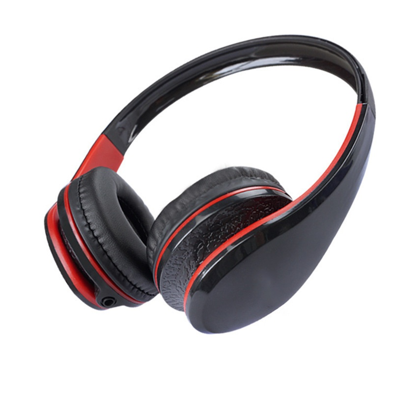 HiFi Portable Flexible 3.5mm Wired Gaming Headphone Over Ear Stereo Bass Headset with Mic