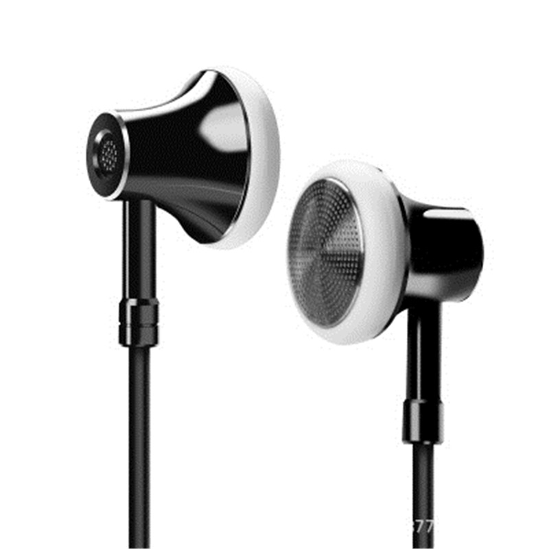 C5 Type-c Wired Control Earphone Super Bass Lightweight Earbuds for Mix2s 6X Huawei With Mic
