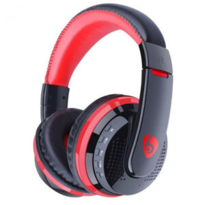 MX666 Foldable Wireless Gaming Headphone bluetooth Over-ear Handsfree Adjustable Headset with Mic Support FM TF
