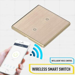 WIFI Smart Switch Smart Home Touch Switch Amazon Alexa Voice Control European Standard Smart Switch