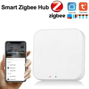 Tuya Zigbee Bridge Smart Home Zigbee Gateway Hub Remote Control Zigbee Devices Via Smart Life APP Works with Alexa Google Home