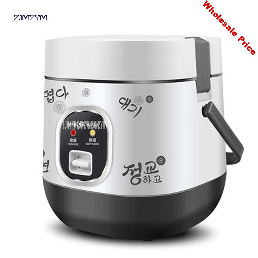 2017 Newest 1.2L Portable Lunch Box RX-12F1 Electric Rice Cooker 200W Multifunction Mini Rice Cooker enough for two persons