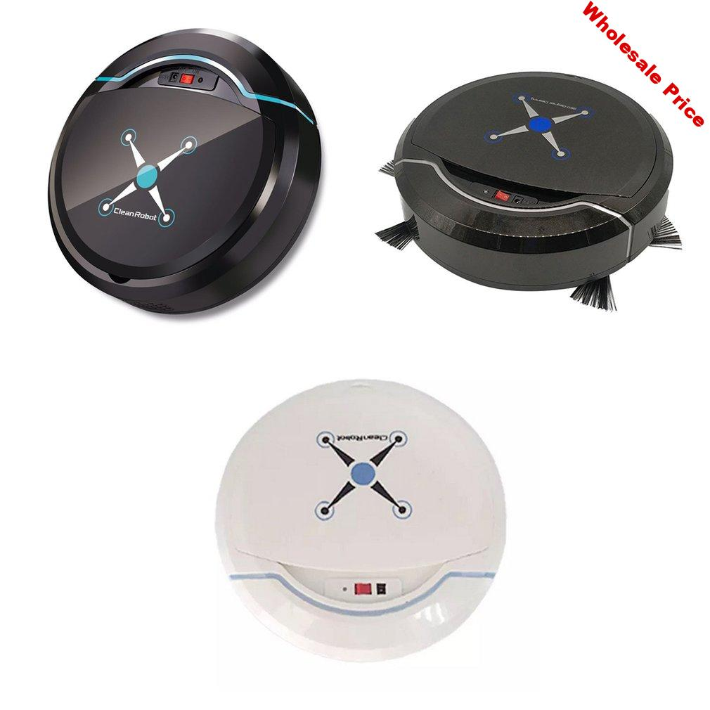 Rechargeable Strong Suction Sweeping Smart Clean Robot Vacuum Cleaner Automatic Rechargeable Smart Sweeping Robot Cleaner