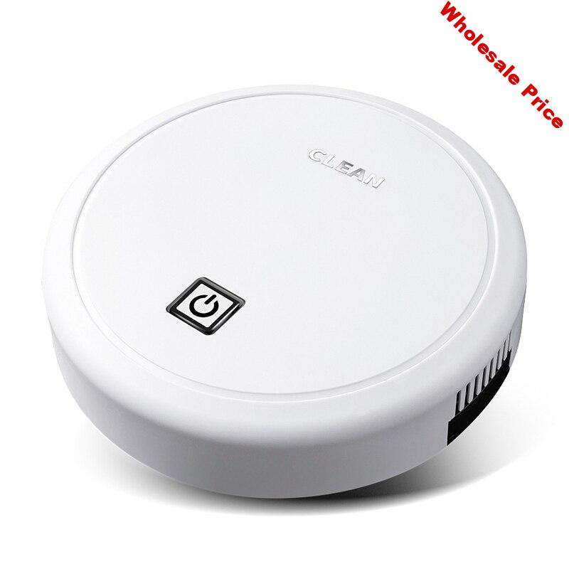 Hot TOD-Automatic USB Charging Wireless Sweeping Robot Vacuum Cleaner Cordless Vaccum Robot Carpet Robots Mop Robot White