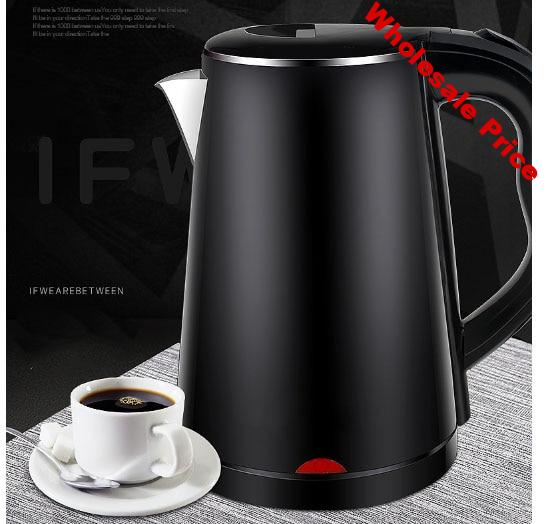 Electric kettle  1.8L household automatic power cut insulation 304 stainless steel Dry heat resistant chassis heating
