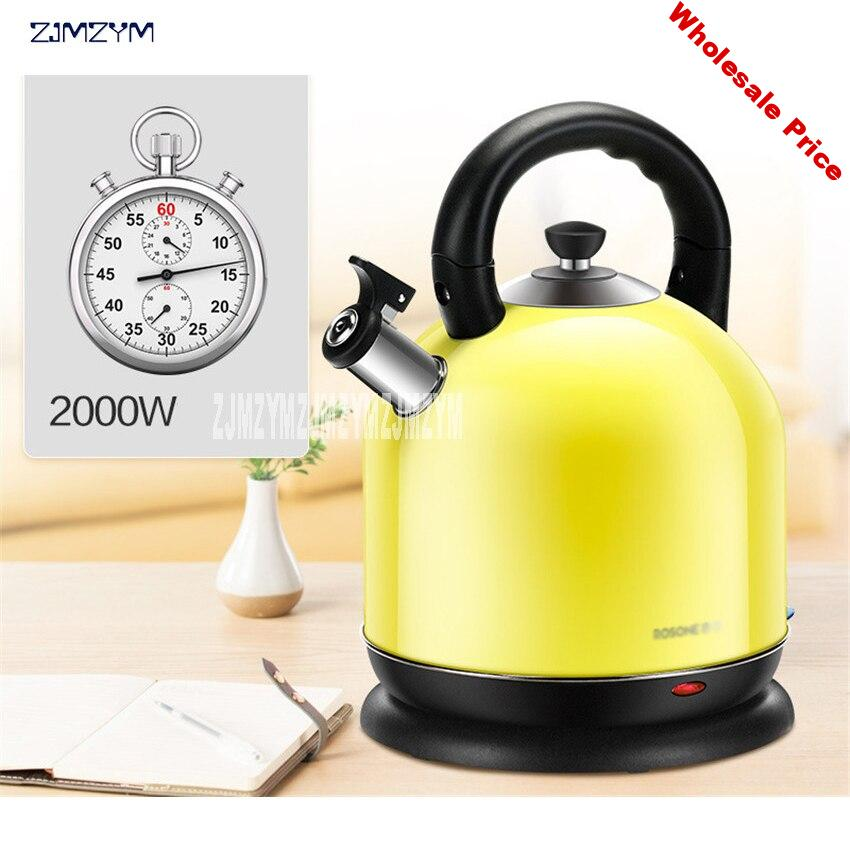 Original 304 stainless steel 5L RX-502B10 large capacity kettle automatic power outage electric kettle