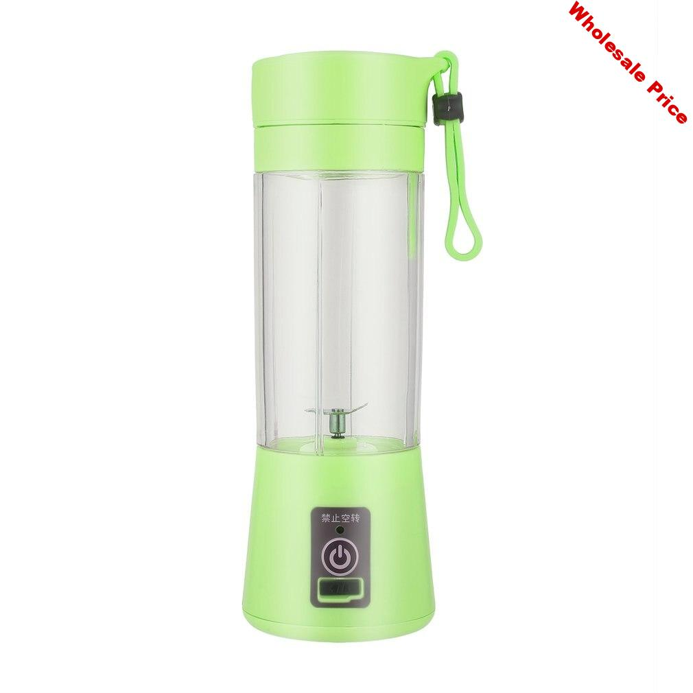 Fashion and Durable Portable and Rechargeable Battery Juice 380ml Volume Healthy Environmentally-friendly USB Juicer