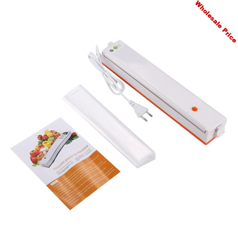 Vacuum Sealer Vacuum Packing Machine 220V Household Sous Vide Food Sealer With 10Pcs Sealing Machine Packages Free Shipping