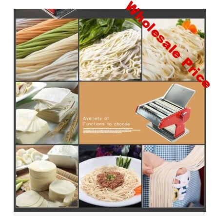 2 / 3 knife mini hand-operated multi-function noodle press for household noodle machine DIY dumpling wrapper Thick/thin/round