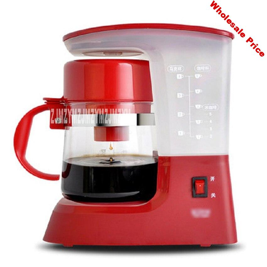 TSK-1948A 220V/50Hz Fully Automatic Coffee Machine  Cups Coffee Machine for American Coffee Machines food grade PP material 0.6L