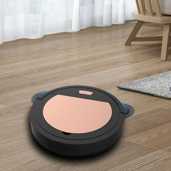 USB Rechargeable Robot Vacuum Cleaner 1800Pa Strong Suction Smart Sweeper Robot Cleaning Tools For Home Appliance