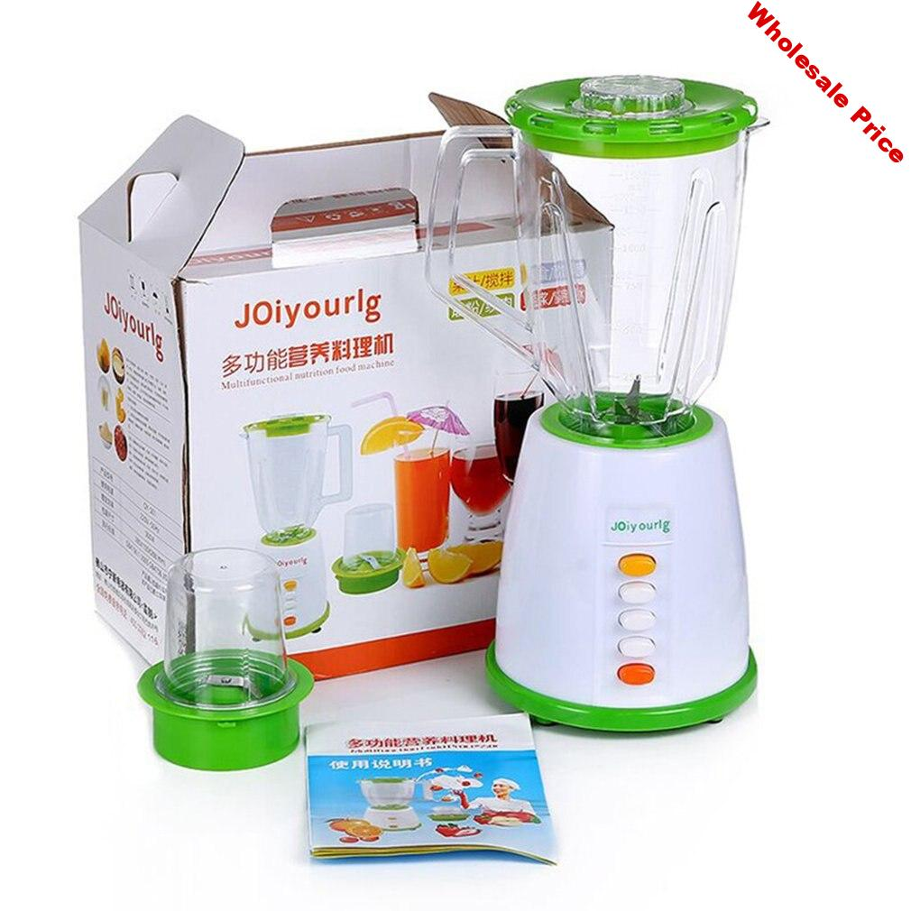 Multifunctional Electric Juicer Household Automatic Blender Juicer Machine High Quality 2L High Capacity Juicer