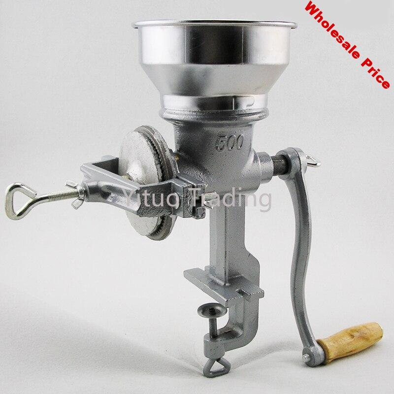 Household Cast Iron Manual Grinding Machine 4.5KG Hand Grinding Medicinal Materials Grains Dry Grinding Bean Grinding Machine
