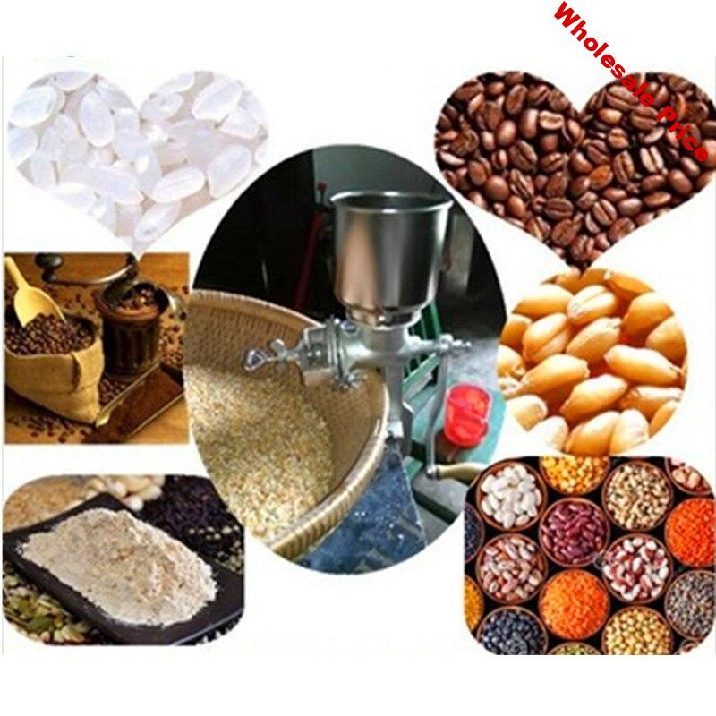 Grain grinder coffee soybean crushing milling machine maize grinding mill price  ZF
