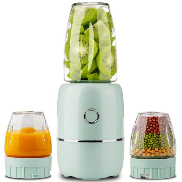 220V Household Electric Juicer Meat Grinder With Glass Cup Multi Food Blender High Quality Mixing Machine