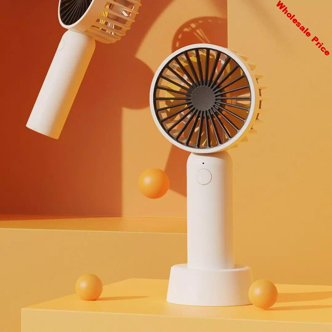 GXZ-F822 Mini Portable Pocket Fan Cool Air Hand Held USB Charge Travel Cooler Cooling Mini Fans Office Outdoor Home Air Cooler