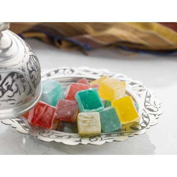 Hard Consistency Turkish Delight with Fruity 500 g
