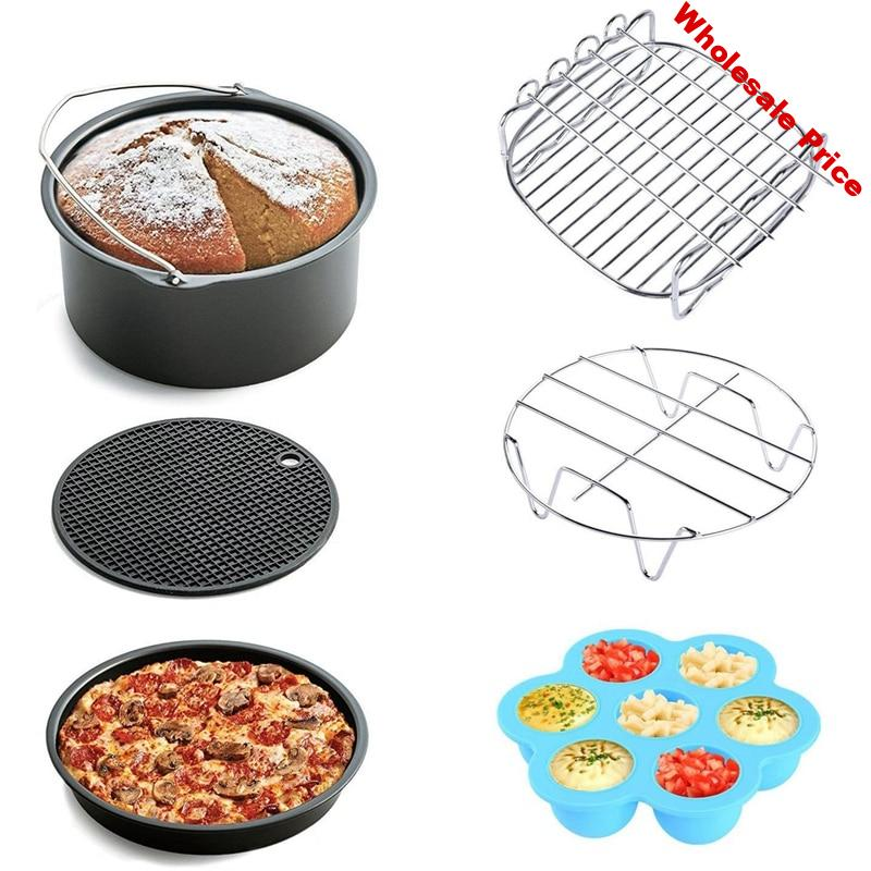 6Pcs Air Fryer Accessories for Gowise Phillips and Cozyna