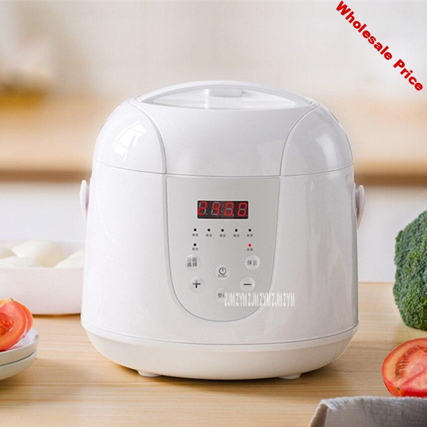 YD-SK02 Intelligent Reservation Small Electric Rice Cooker Household Portable Smart Timing Rice Cooking Machine 2L 400W 220V