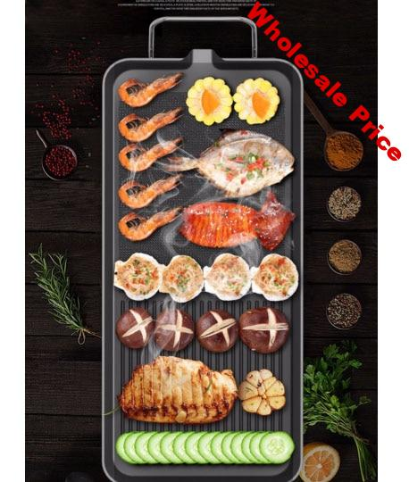 Electric BBQ Furnace pan outdoor barbecue oven portable kebab grill electric mechanical grill BBQ Medium extra big