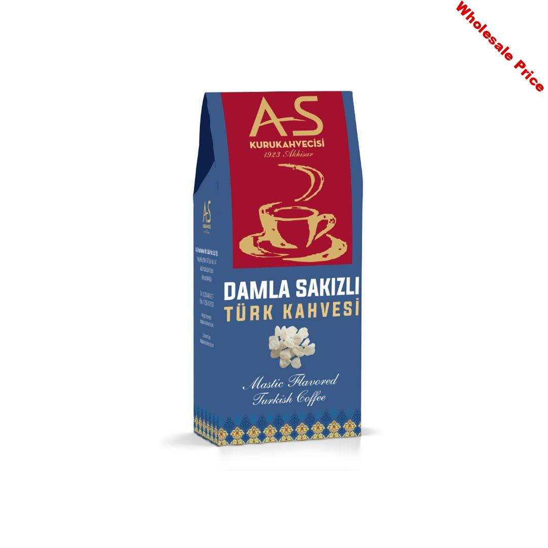 As Coffee-Turkish Coffee Mustic with Gum