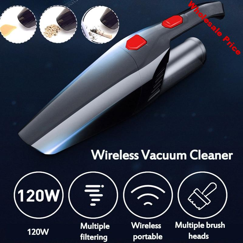 120W 3000KPA/4500KPA High Suction Wireless Handheld Vacuum Cleaner Wet And Dry Dual-use Strong Power Suction For Home Car