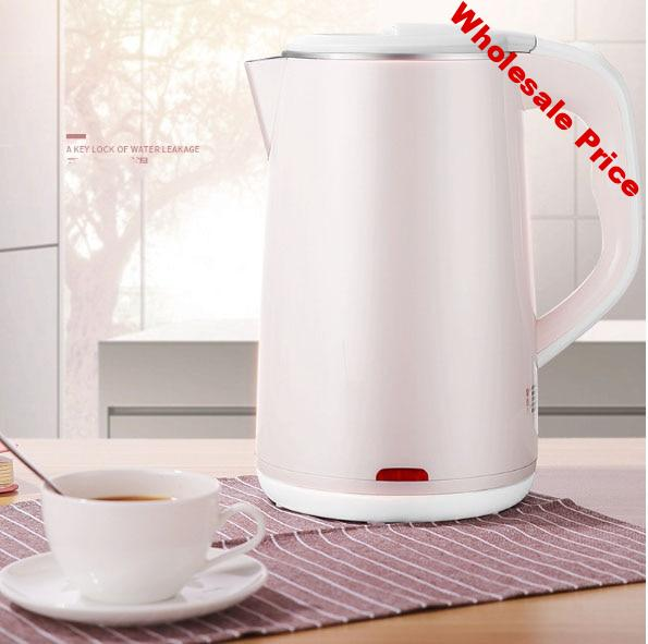 electric kettle Stainless steel insulated kettle 1.8L Anti-Dry burning One key water outlet Touch type Power cord 0.7 m