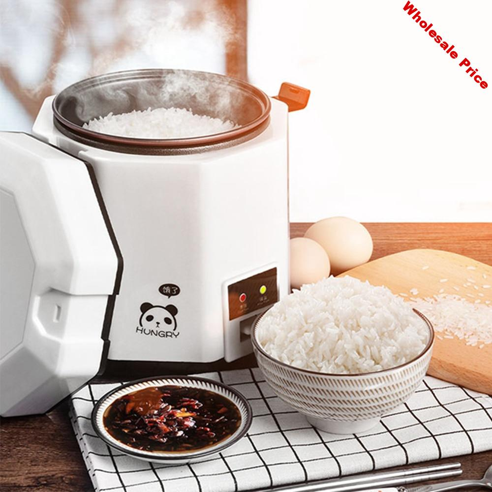 1.2L Mini Rice Cooker Electric Cooking Machine Single/Double Layer Available Hot Pot Multi Electric Rice Cooker EU/UK/AU/US
