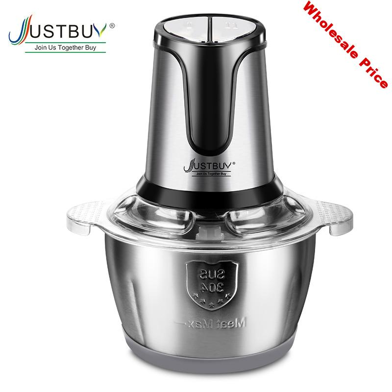 2 speed 500w Stainless Steel Meat Grinder Chopper Electric Automatic Mincing Machine Household Grinder Food Processor