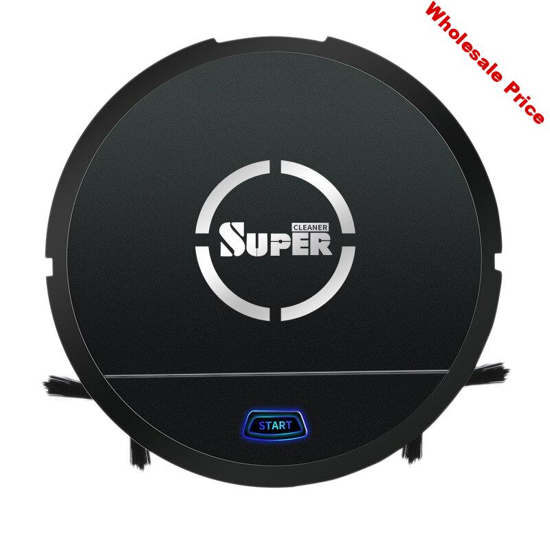 Hot TOD-Usb Rechargeable Auto Cleaning Robot Smart Sweeping Robot Floor Dirt Dust Hair Noiseless Vacuum Sweeper for Home Offic