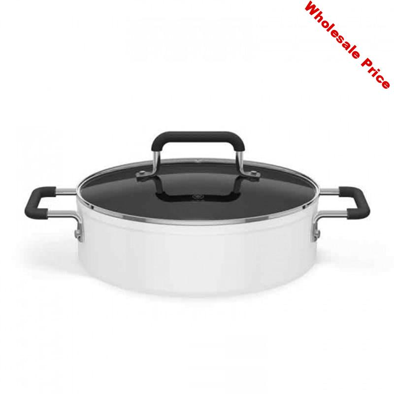 Induction cooker matching boiler Multi-function soup pot hot pot Intelligent induction cooker Household one-Integration pot 1PC