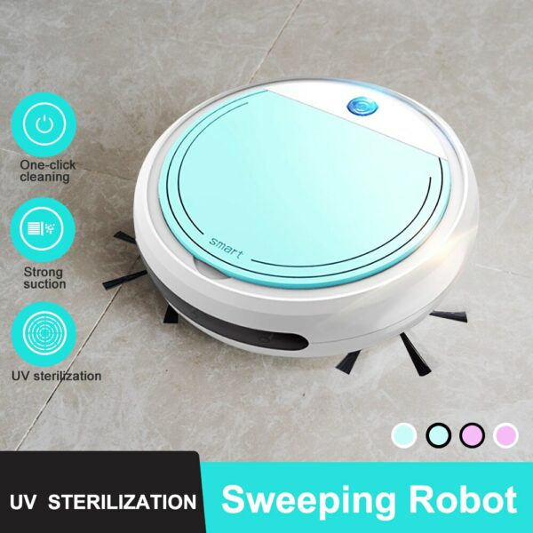 3-In-1 Multifunctional Smart Floor Cleaner Intelligent Automatic Sweeping Robot Household Rechargeable Dry Wet Sweeping Vacuum