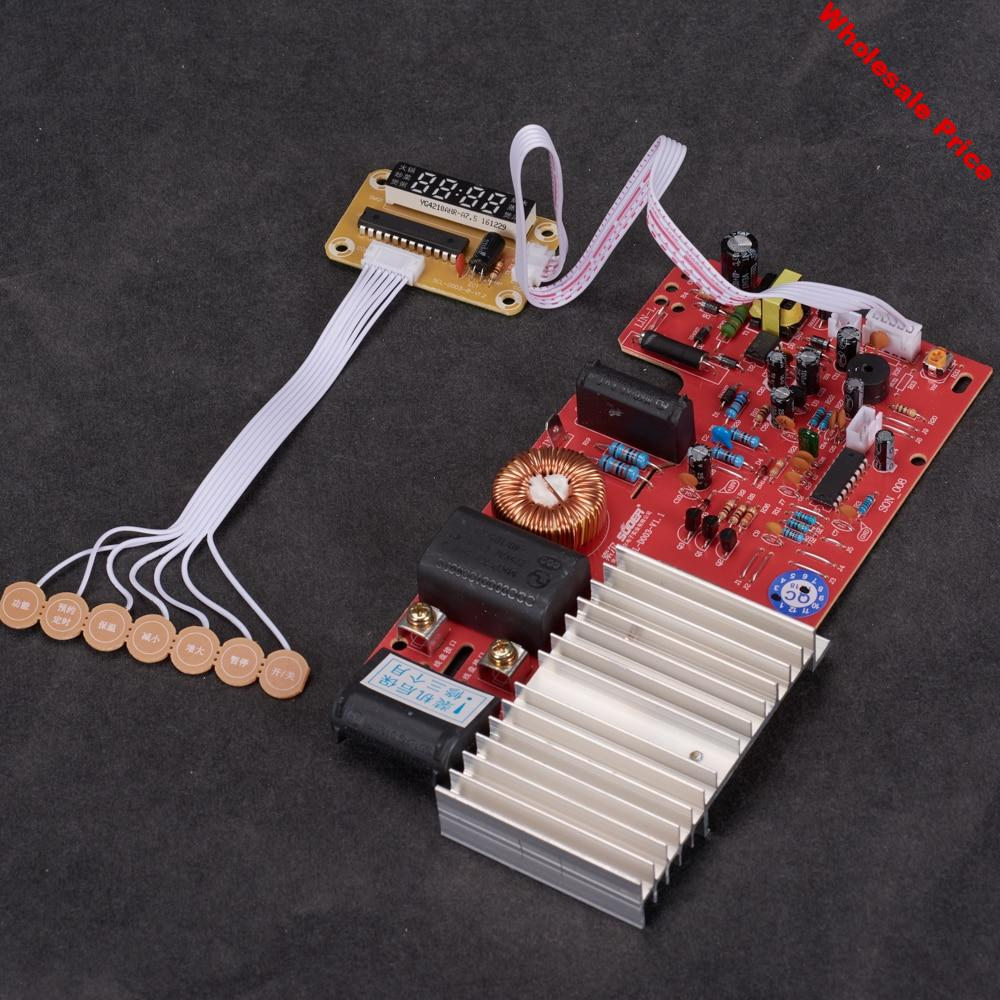 Universal induction cooker pcb circuit board touch type prestige 2000w control pannel kitchen appliances spare parts