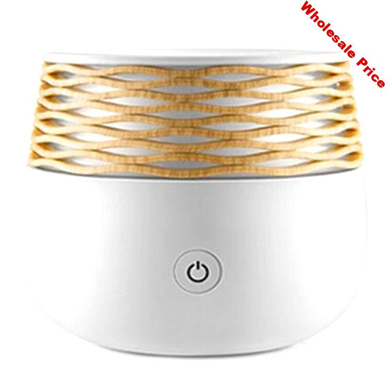 Electric Aromatherapy Ultrasonic Humidifier Essential Oil Aroma Diffuser Led Light Mist Maker Fogger Mini Usb Air Humidifier