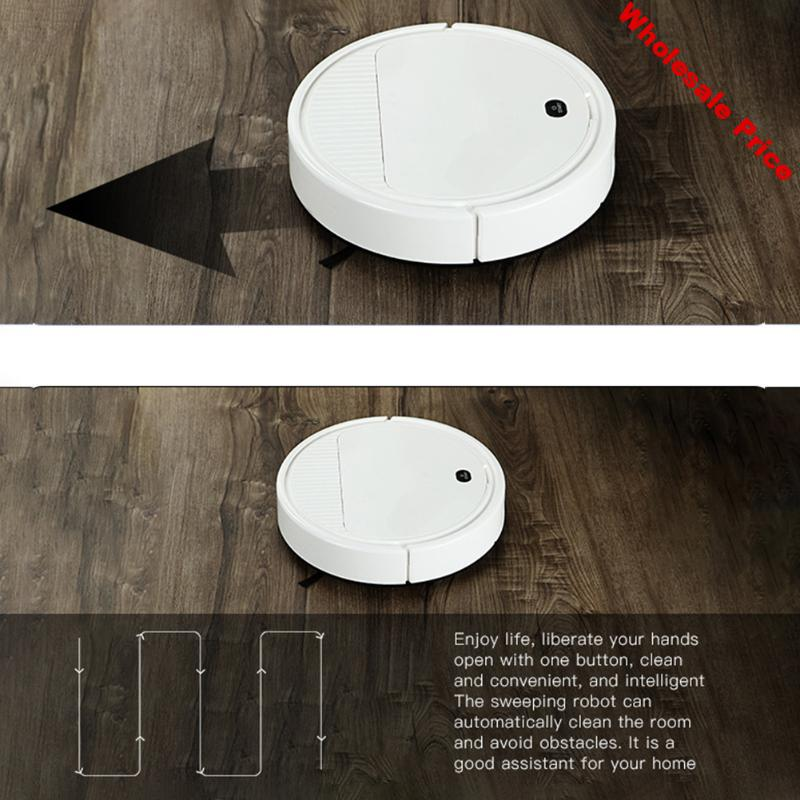 Multi-functional Sweeping Robot Rechargeable Automatic Sweeper Vacuum Cleaner Strong Dust Absorption Clean Appliances