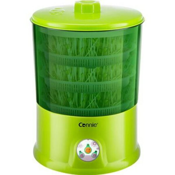 220V Household Automatic Electric Bean Sprouts Machine Multifunctional Healthy DIY Bean Sprouts Cultivation Machine EU/AU/UK/US