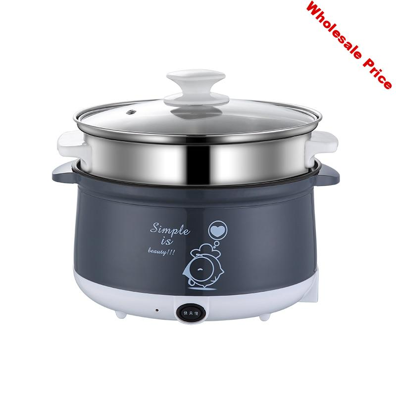 220V Household Electric Mini Multi Cooker Non-stick Hot Pot Cooking Pot For Cooking Frying Steaming EU/AU/UK/US High Quality
