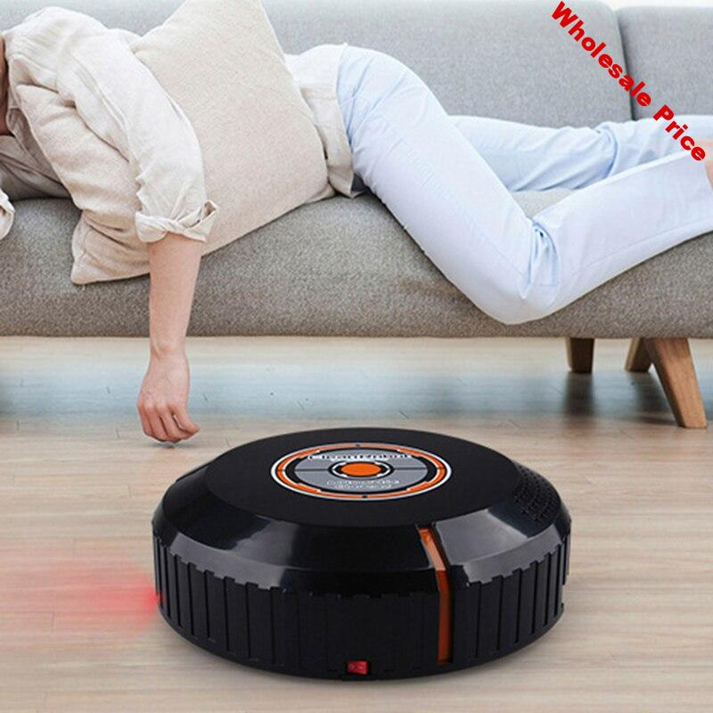 Automatic Rechargeable Strong Suction Sweeping Smart Vacuum Cleaner