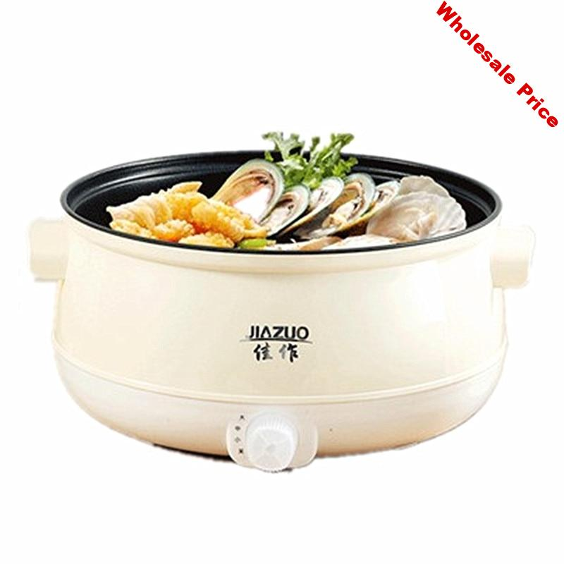220V Electric Rice Cooker Non-stick Electric Hot Pot For Travel Pot Household Multi Cooker Food Hotpot Cooking Pot Machine