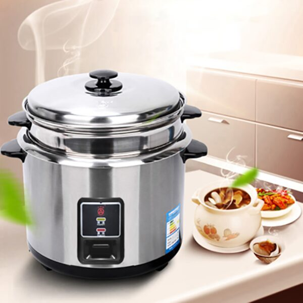 CKD-Z30G mini appliance rice cooker 3L stainless steel 220V/50Hz Chassis heating soup Stainless steel liner Rice Cookers 500W
