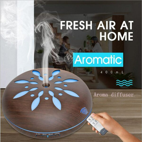 Air Humidifier Home Aroma Diffuser with 7 Color Changing LED Light Ultrasonic Cool Mist Essential Oil Humidifier Air Diffuser