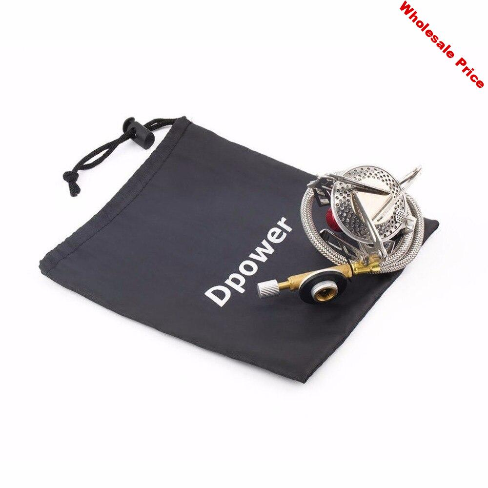 OUTAD Portable Outdoor Folding Gas Stove Camping Hiking Picnic Stove Camping Stove Split Burner Stainless Steel Material
