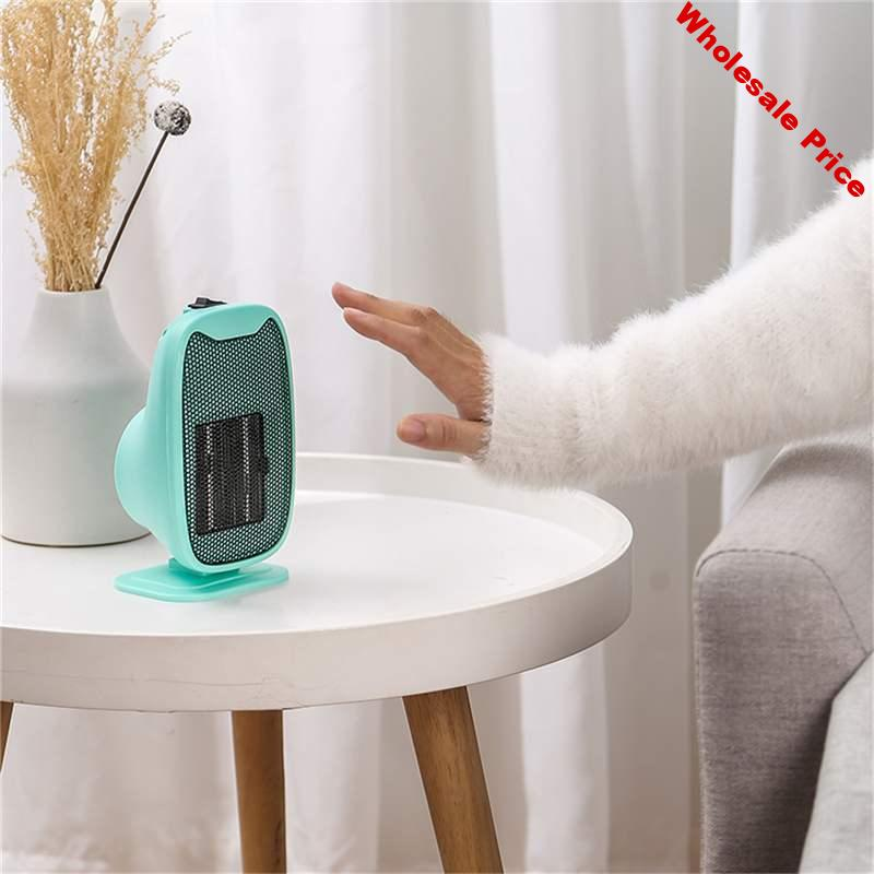 500W Portable Mini Intelligent Constant Temperature Auto Power Off Winter Warmer with Heater Fan for Home Office