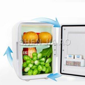 4L refrigerator heating and cooling Small refrigerator Portable refrigerator car household dual-use Mini fridge 220-240V/12V