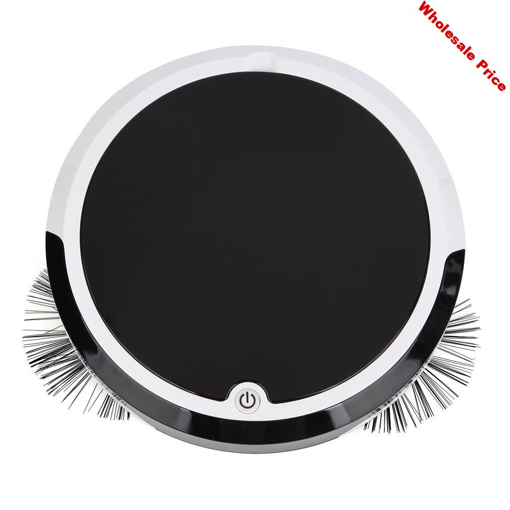 Robot Vacuum Cleaner Plastic Smart Cleaning One-Button Start Powerful Suction Home Dry Wet Mopping Cleaning Robot 1 Set
